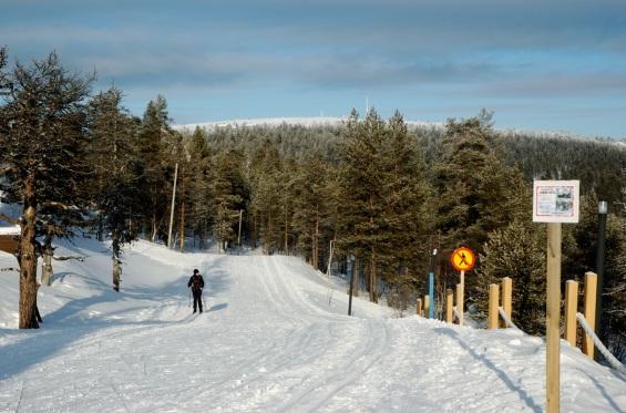 Las pistas de esquí nórdico, 200 km en total